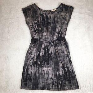 Bebop abstract tie back dress